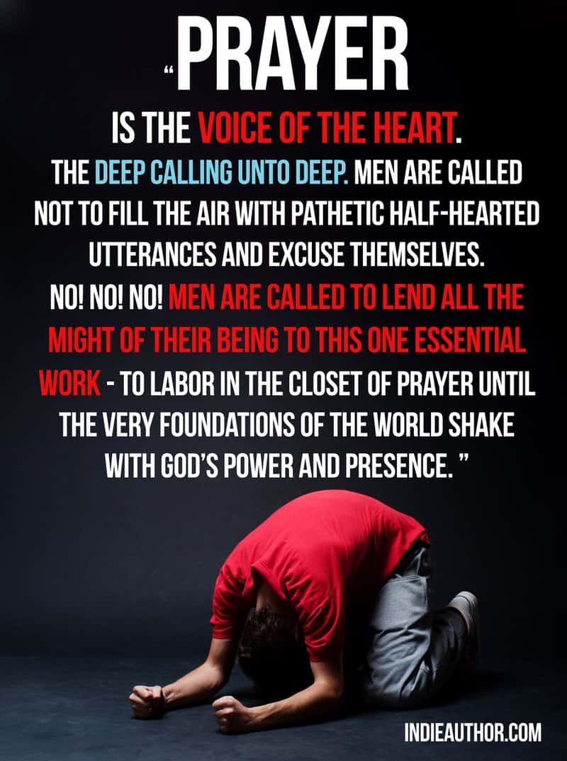 Men called to prayer